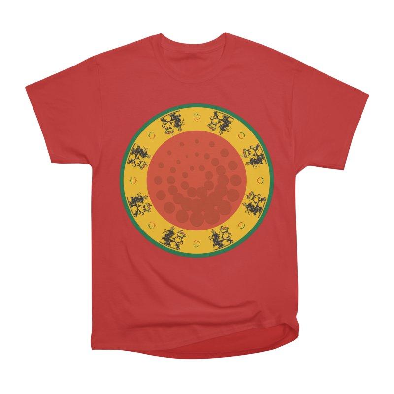 Lions Men's Heavyweight T-Shirt by Satta van Daal