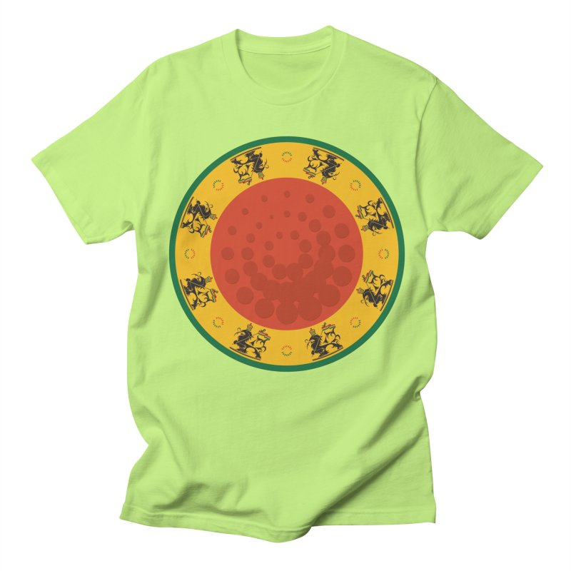 Lions Women's Regular Unisex T-Shirt by Satta van Daal