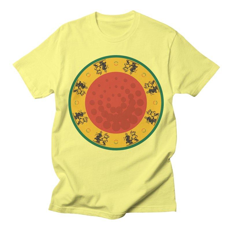 Lions Men's T-Shirt by Satta van Daal
