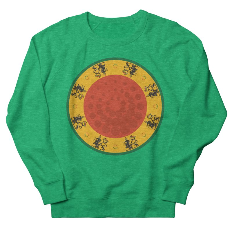 Lions Women's Sweatshirt by Satta van Daal