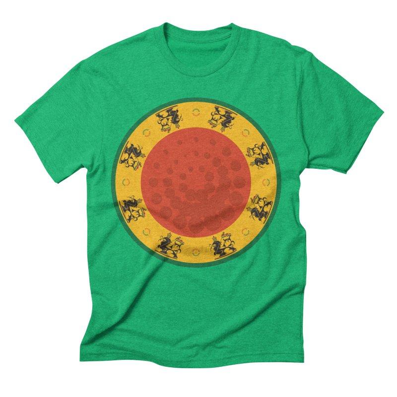 Lions Men's Triblend T-Shirt by Satta van Daal