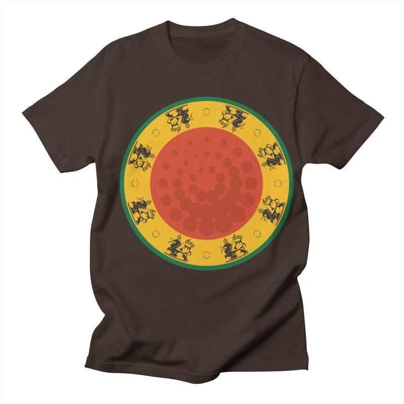 Lions Men's Regular T-Shirt by Satta van Daal