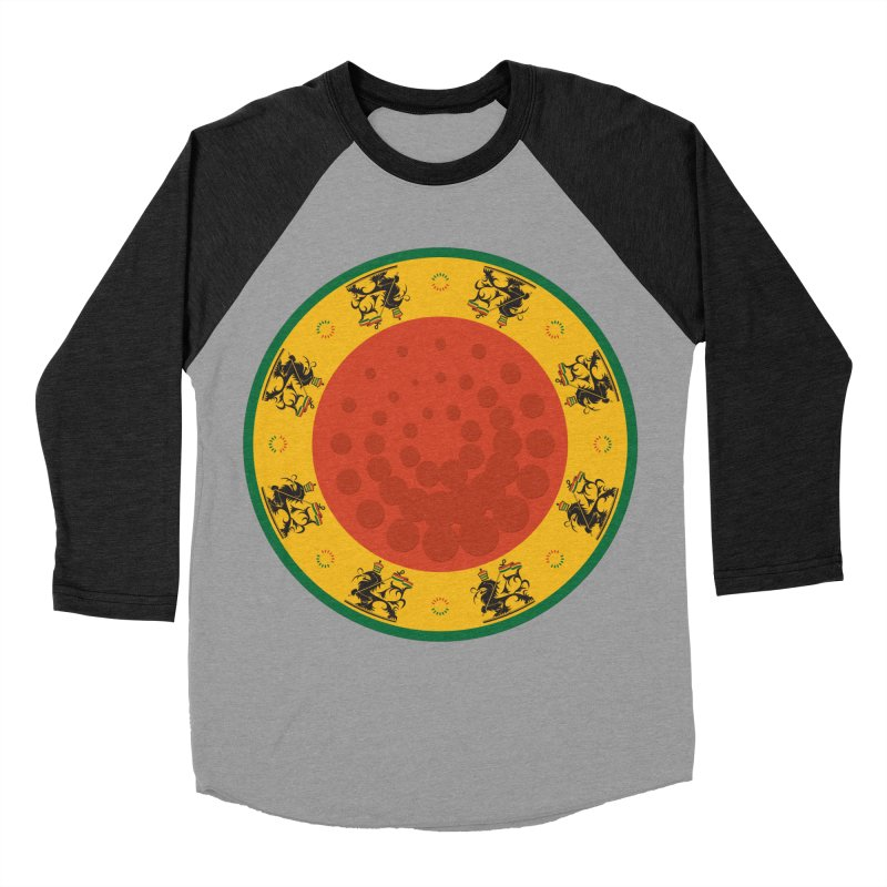 Lions Women's Baseball Triblend Longsleeve T-Shirt by Satta van Daal