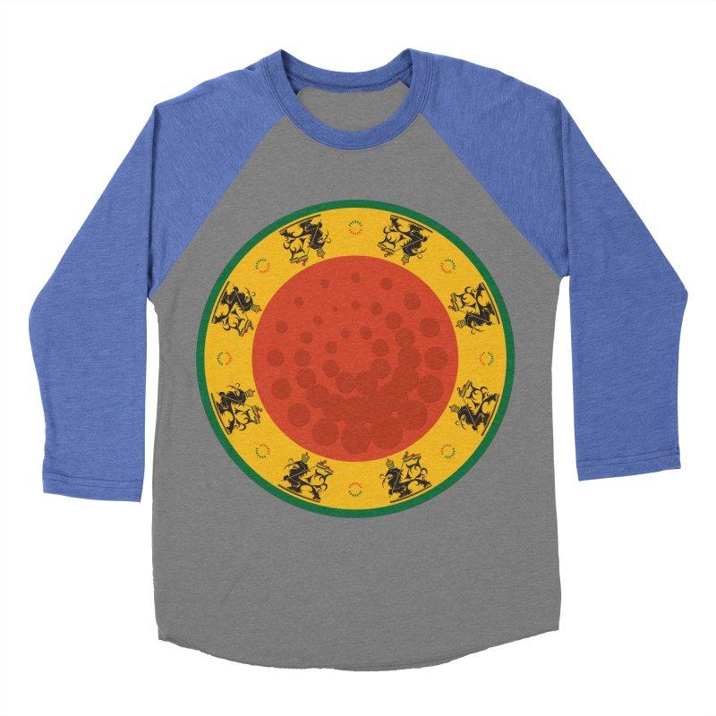Lions Men's Baseball Triblend Longsleeve T-Shirt by Satta van Daal