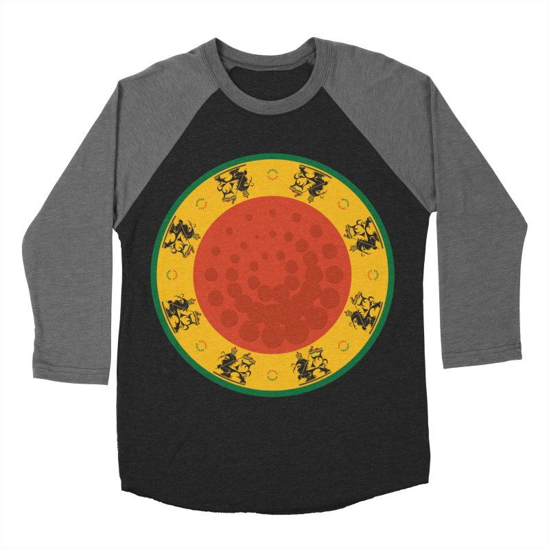 Lions Men's Baseball Triblend T-Shirt by Satta van Daal