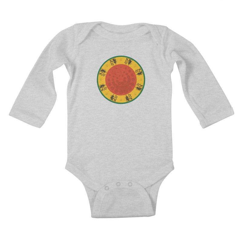 Lions Kids Baby Longsleeve Bodysuit by Satta van Daal