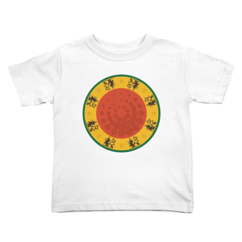 Lions Kids Toddler T-Shirt by Satta van Daal