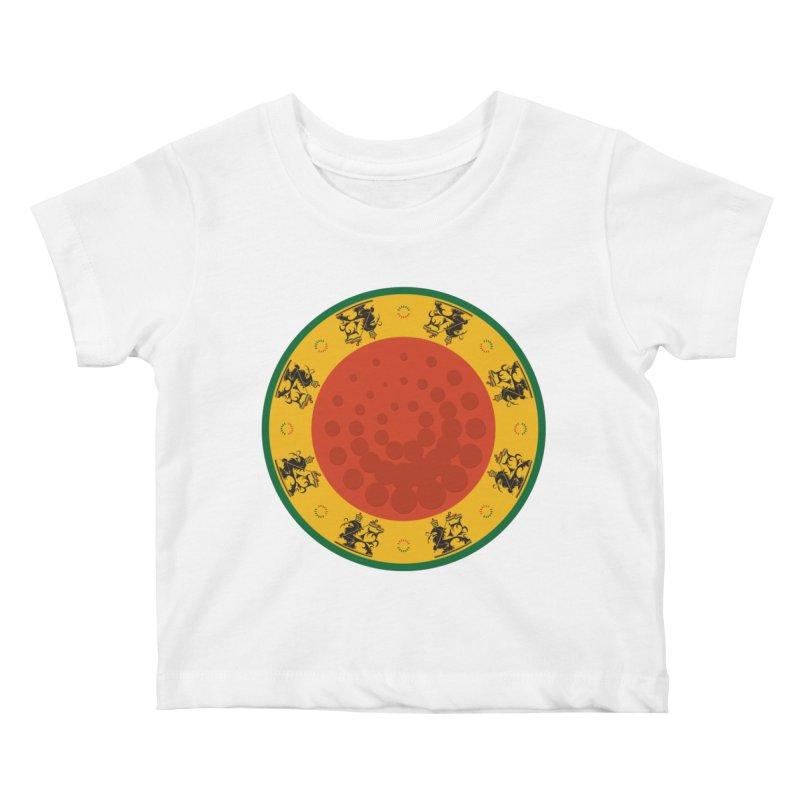 Lions Kids Baby T-Shirt by Satta van Daal