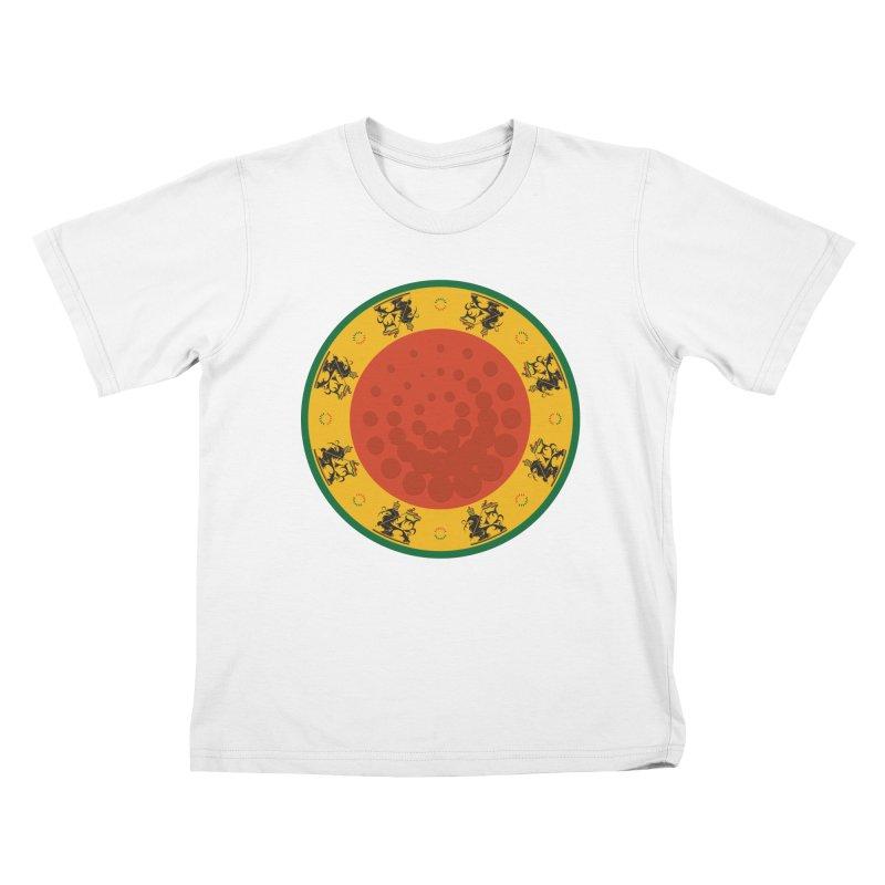 Lions Kids T-Shirt by Satta van Daal