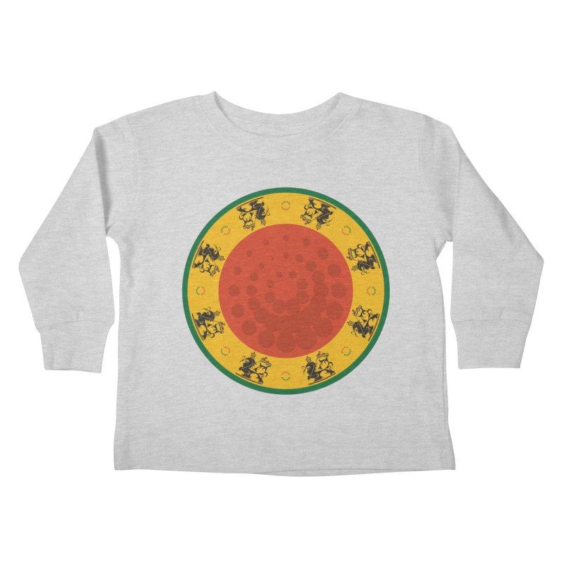Lions Kids Toddler Longsleeve T-Shirt by Satta van Daal