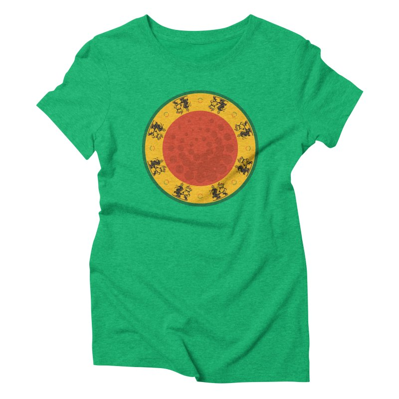 Lions Women's Triblend T-Shirt by Satta van Daal