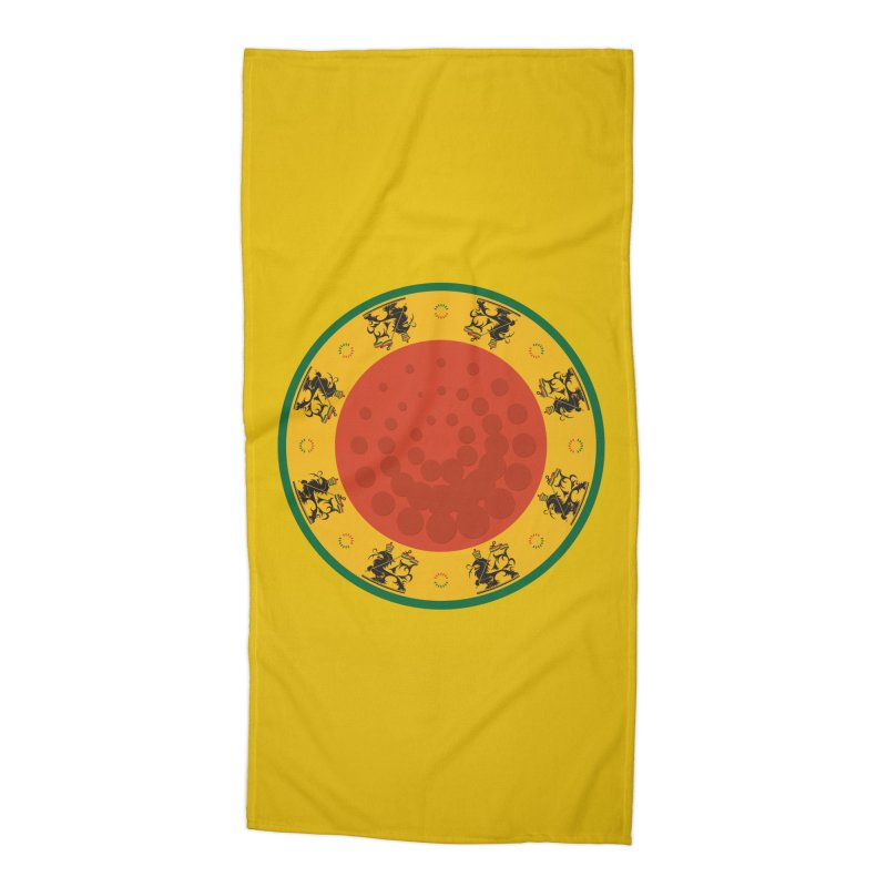 Lions Accessories Beach Towel by Satta van Daal