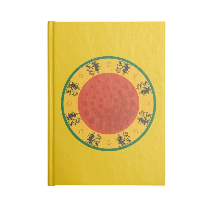 Lions Accessories Notebook by Satta van Daal
