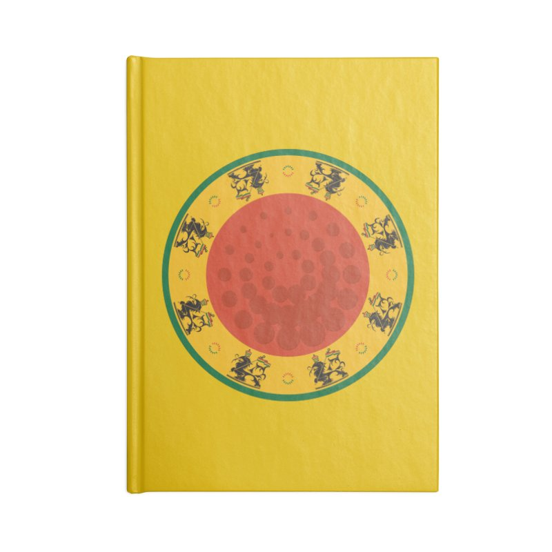 Lions Accessories Lined Journal Notebook by Satta van Daal