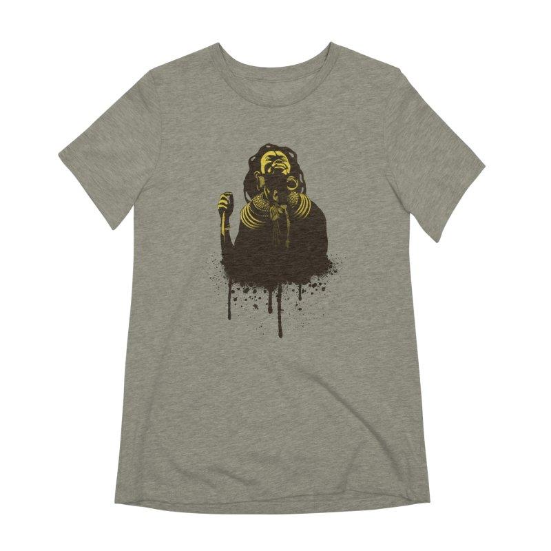 African Queen Women's Extra Soft T-Shirt by Satta van Daal