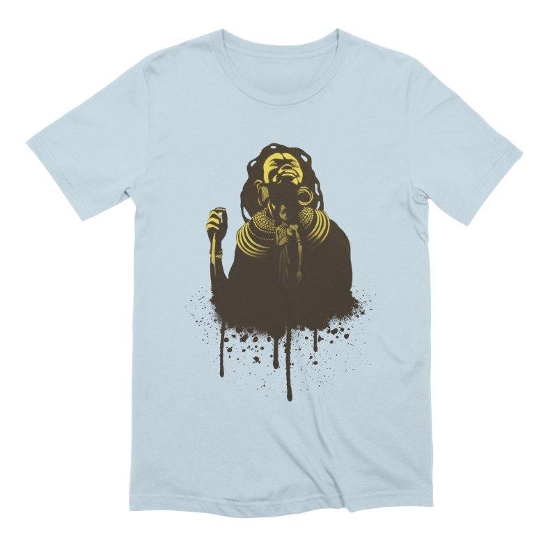African Queen Men's Extra Soft T-Shirt by Satta van Daal
