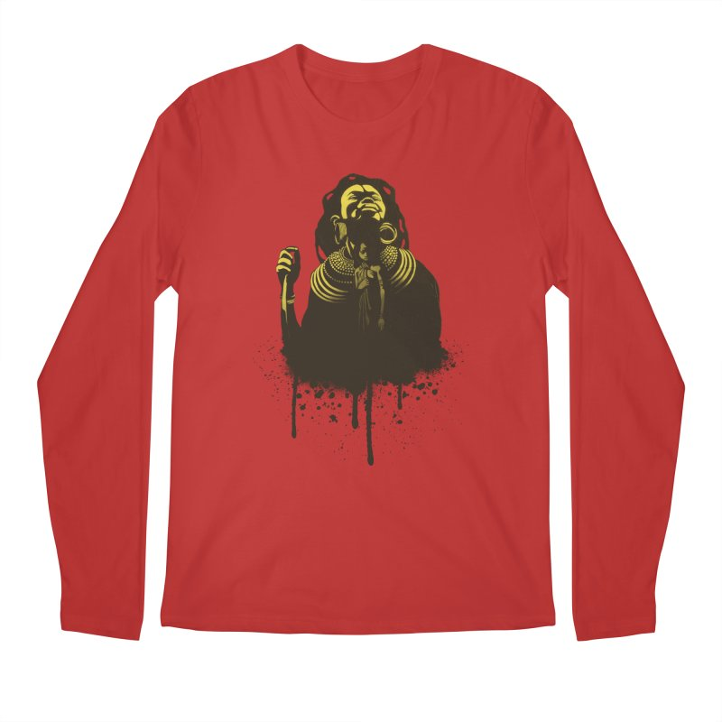 African Queen Men's Longsleeve T-Shirt by Satta van Daal