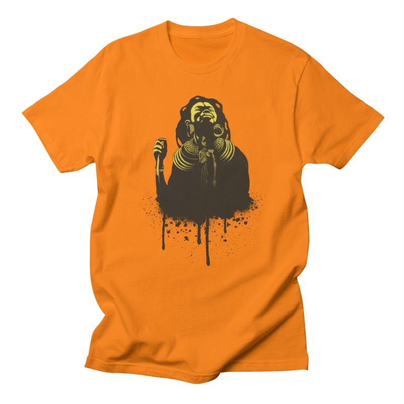 African Queen Women's Regular Unisex T-Shirt by Satta van Daal