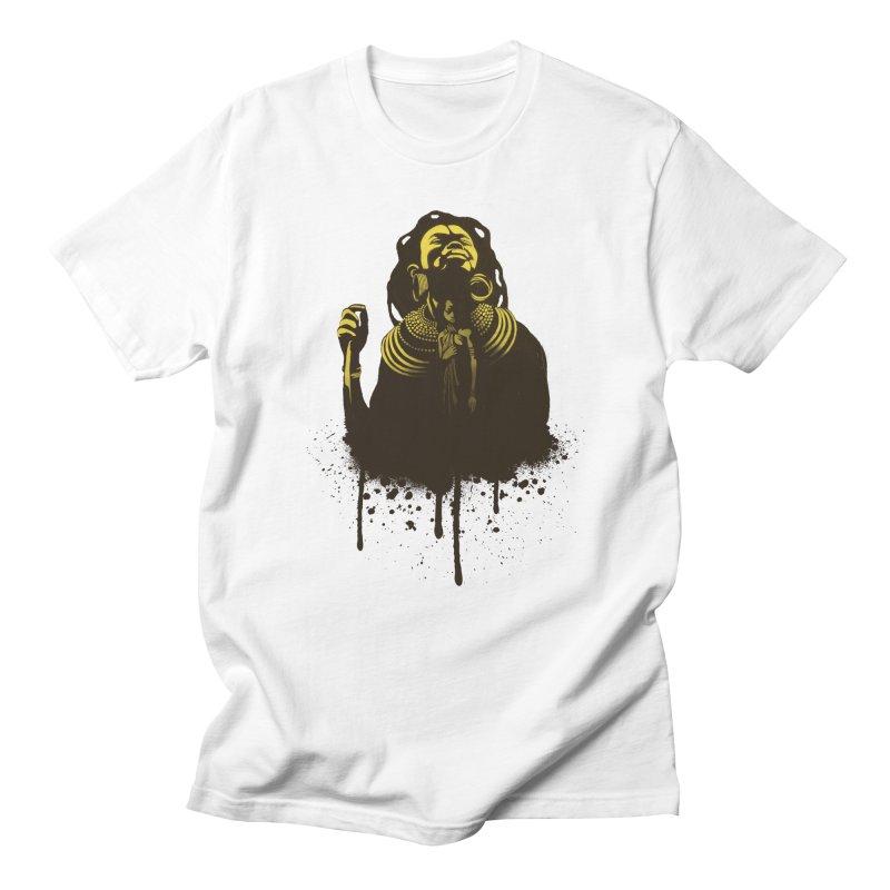 African Queen Men's Regular T-Shirt by Satta van Daal