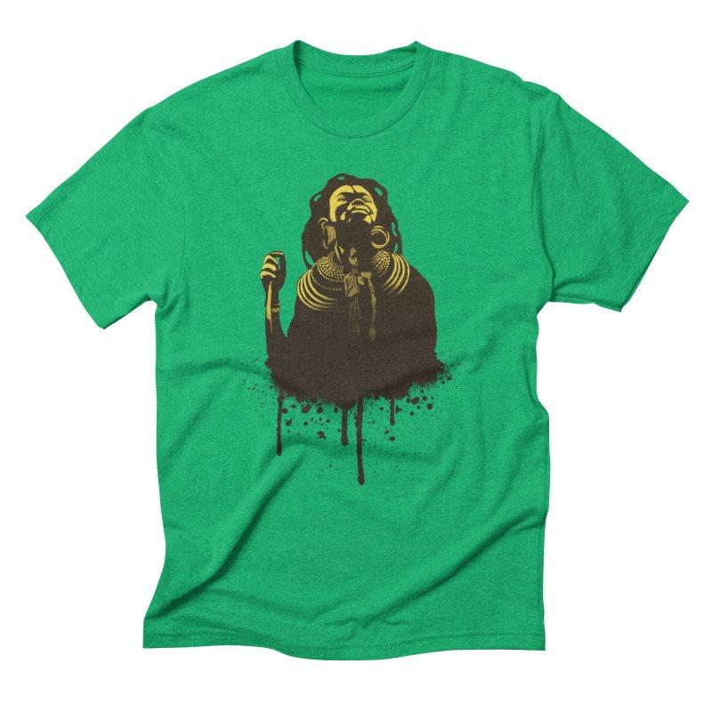 African Queen Men's Triblend T-Shirt by Satta van Daal