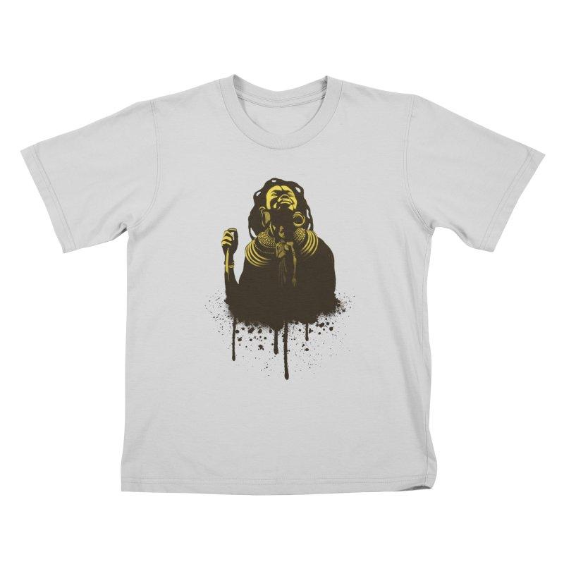 African Queen Kids T-Shirt by Satta van Daal