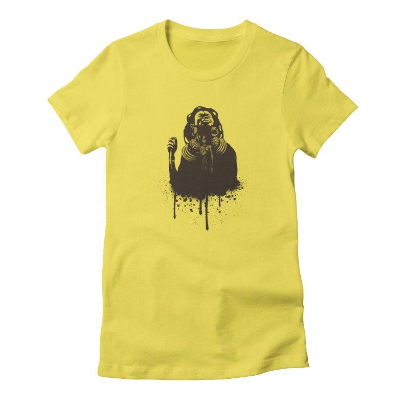 African Queen Women's T-Shirt by Satta van Daal