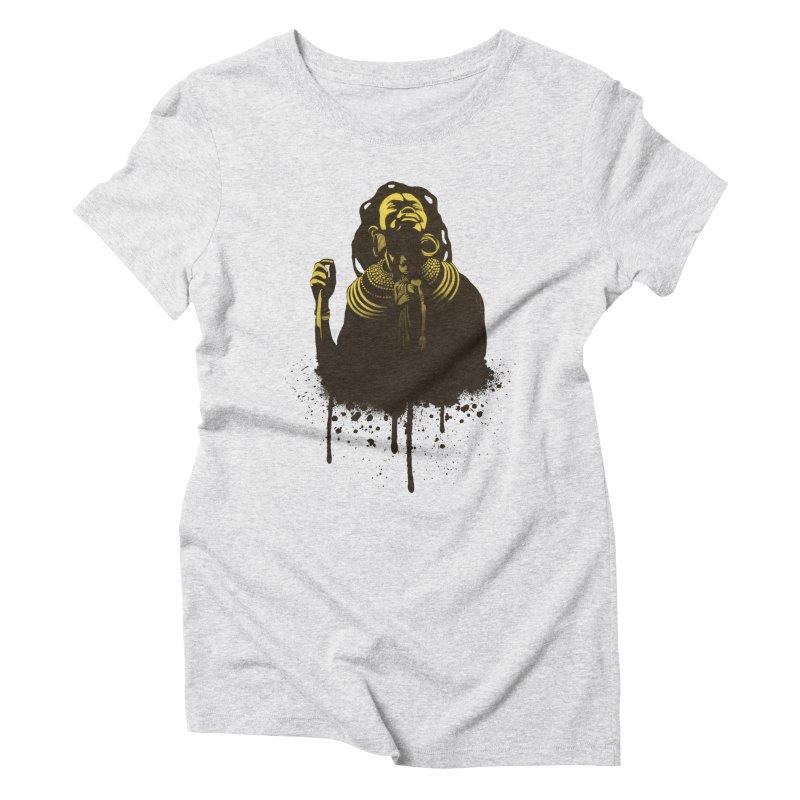 African Queen Women's Triblend T-Shirt by Satta van Daal
