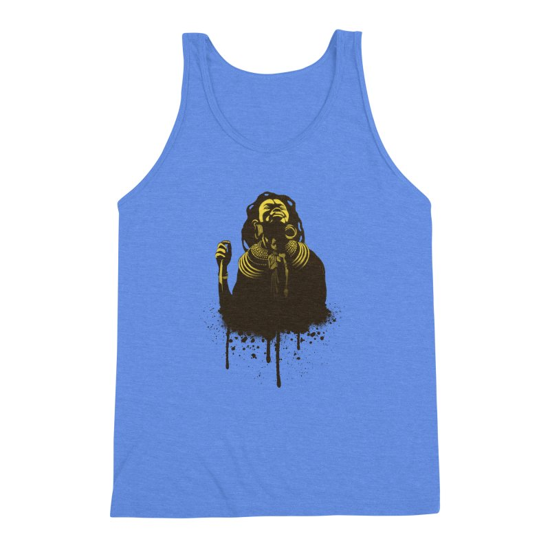 African Queen Men's Triblend Tank by Satta van Daal