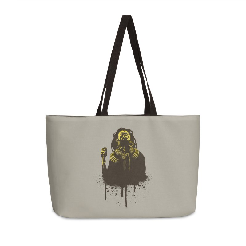 African Queen Accessories Weekender Bag Bag by Satta van Daal