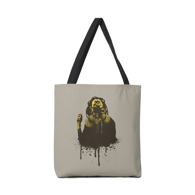 African Queen Accessories Tote Bag Bag by Satta van Daal