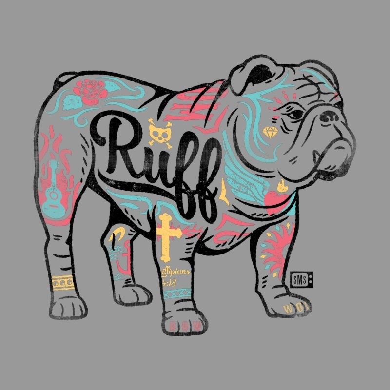 Ruff Men's T-Shirt by Saturday Morning Society