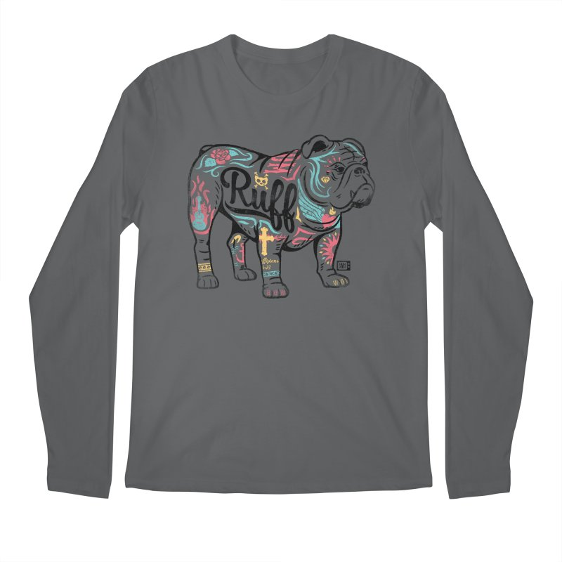 Ruff Men's Longsleeve T-Shirt by Saturday Morning Society