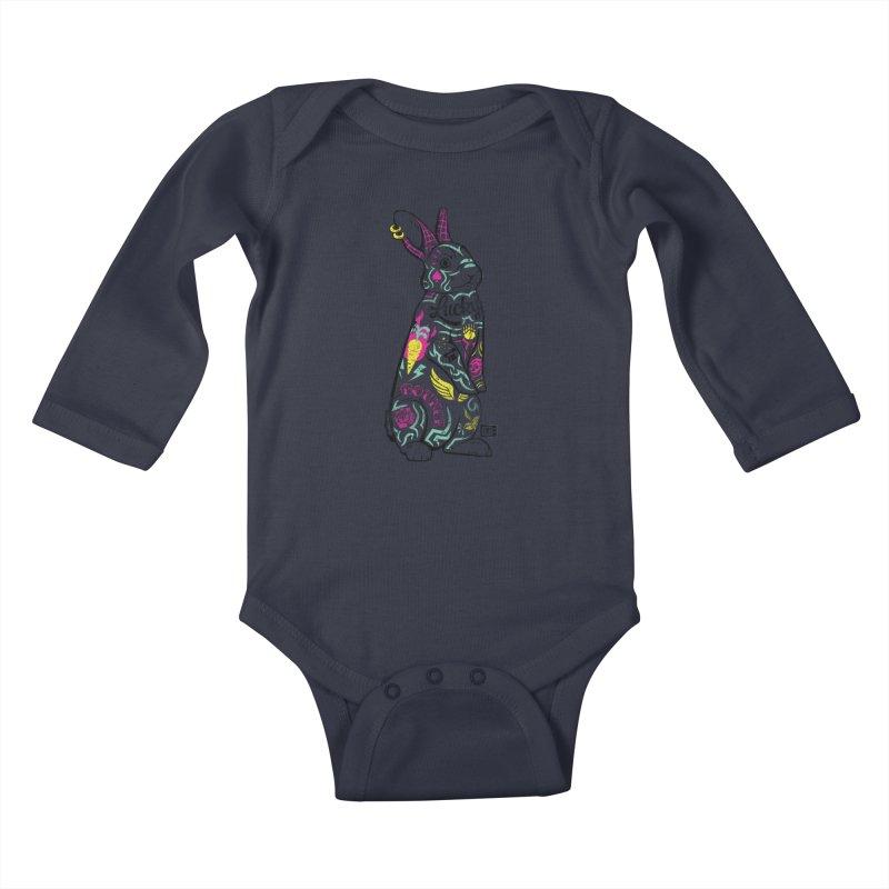 Lucky Kids Baby Longsleeve Bodysuit by Saturday Morning Society