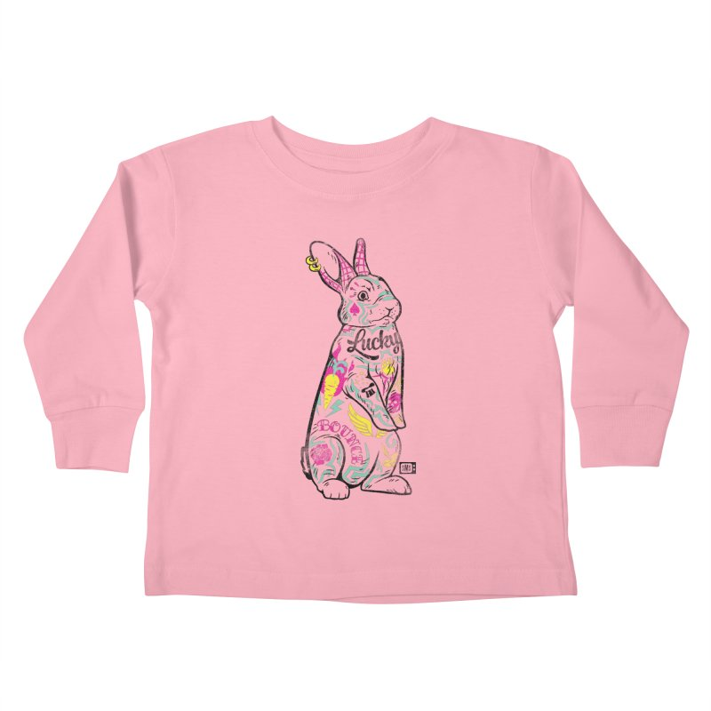 Lucky Kids Toddler Longsleeve T-Shirt by Saturday Morning Society