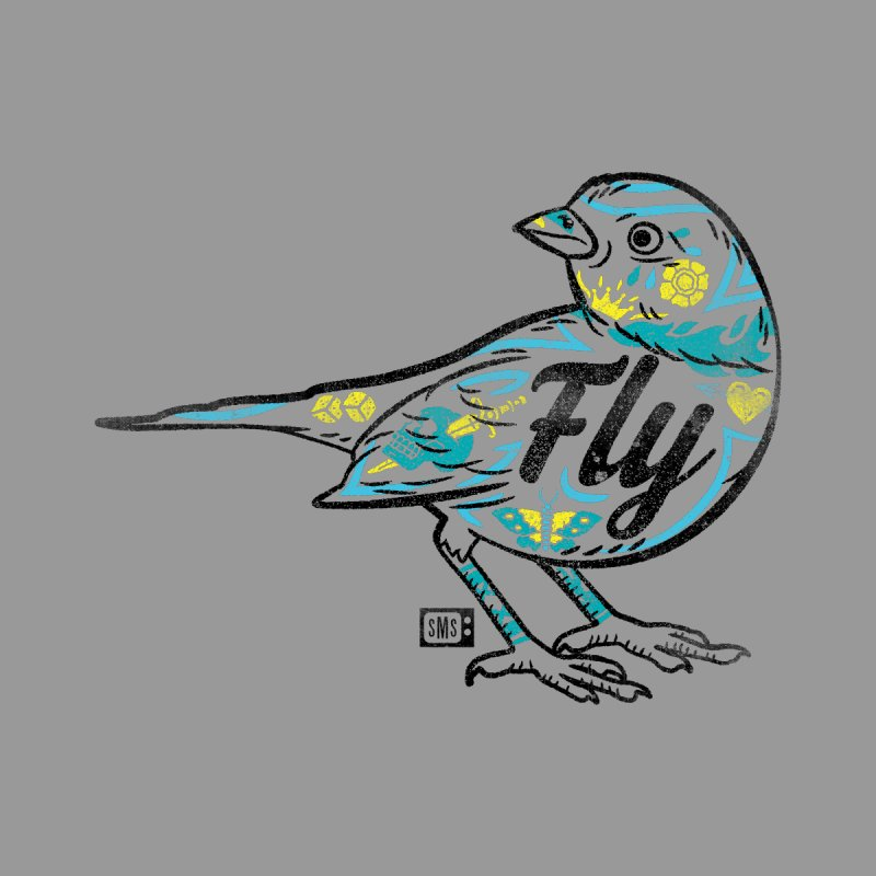 Fly Guy Men's T-Shirt by Saturday Morning Society
