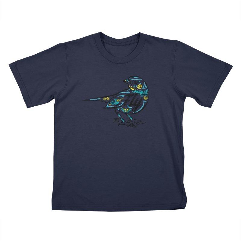 Fly Guy Kids T-Shirt by Saturday Morning Society