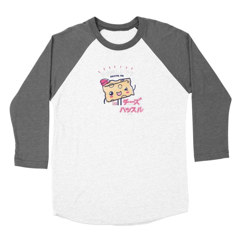Cheesy Hustle Women's Longsleeve T-Shirt by Saturday Morning Society