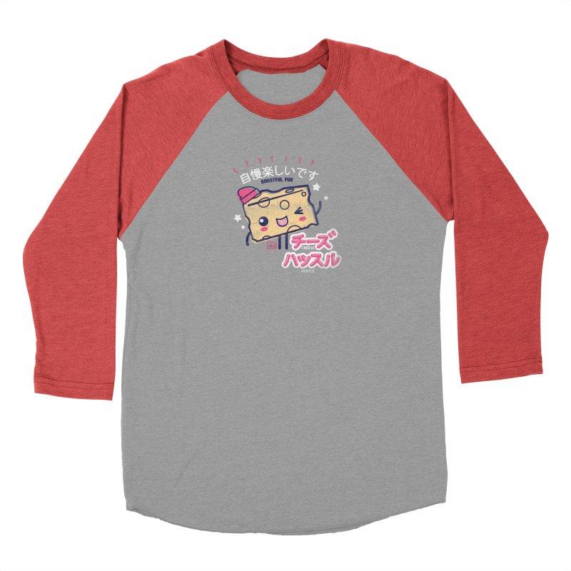 Cheesy Hustle Men's Longsleeve T-Shirt by Saturday Morning Society