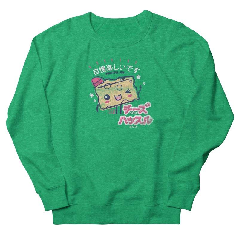 Cheesy Hustle Women's Sweatshirt by Saturday Morning Society