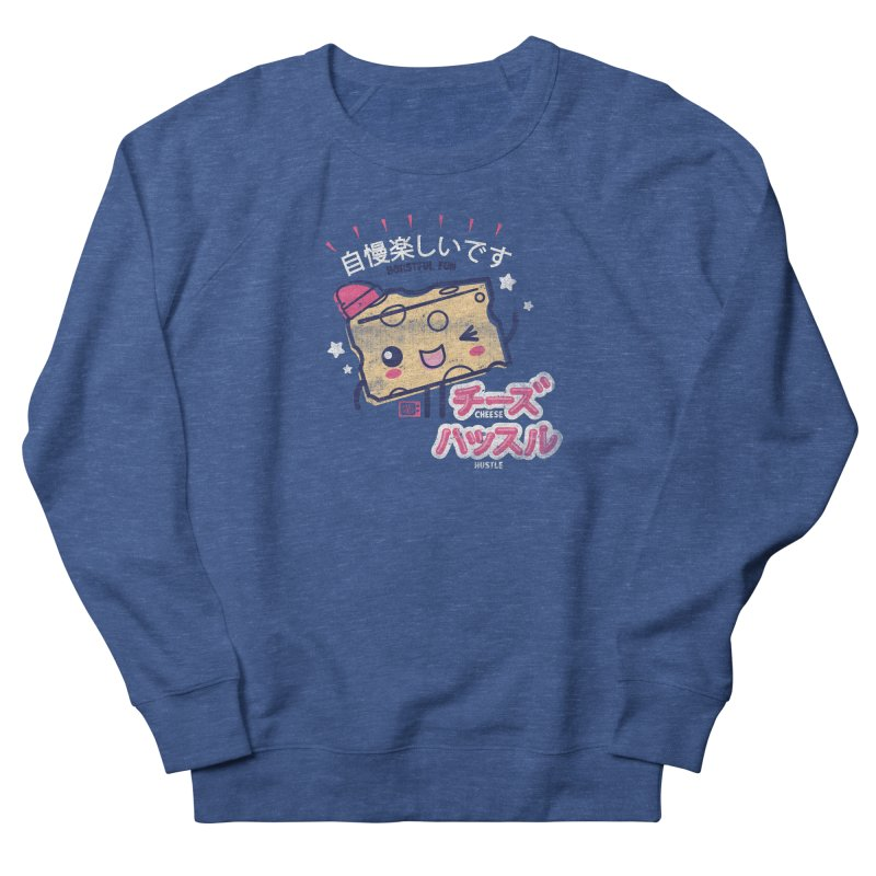 Cheesy Hustle Men's Sweatshirt by Saturday Morning Society