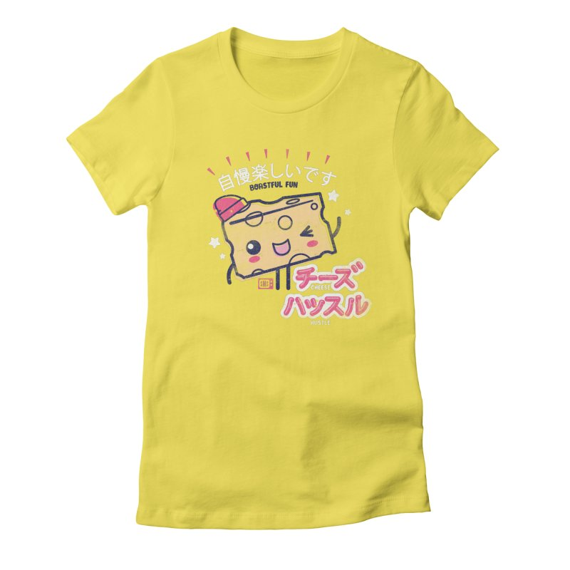 Cheesy Hustle Women's T-Shirt by Saturday Morning Society