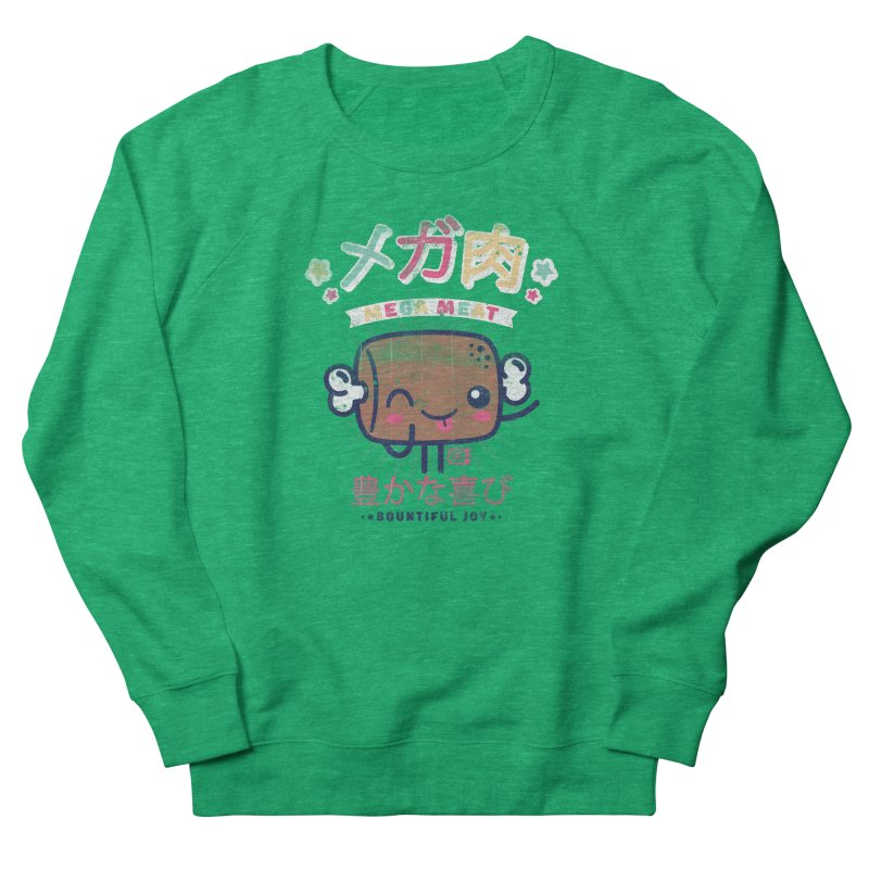 Mega Meat Women's Sweatshirt by Saturday Morning Society