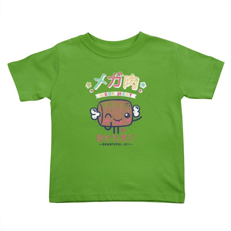 Mega Meat Kids Toddler T-Shirt by Saturday Morning Society