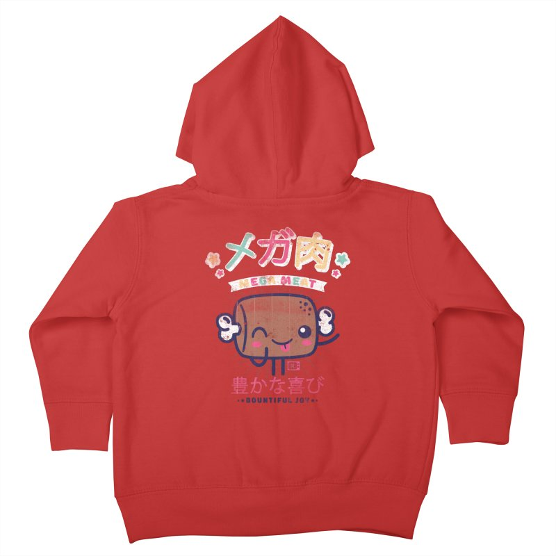 Mega Meat Kids Toddler Zip-Up Hoody by Saturday Morning Society