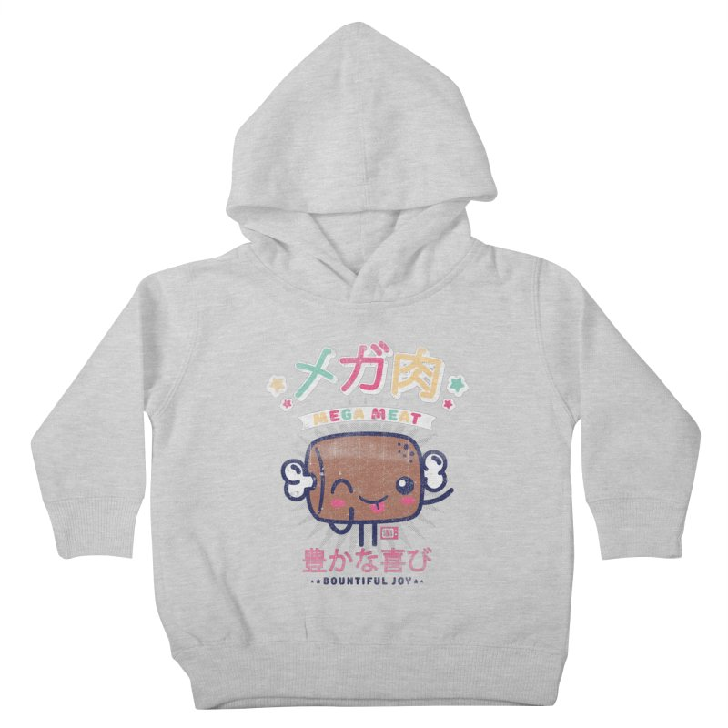 Mega Meat Kids Toddler Pullover Hoody by Saturday Morning Society
