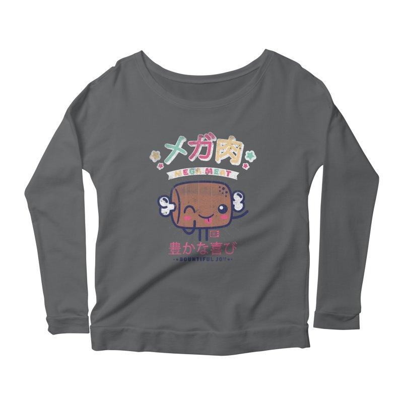 Mega Meat Women's Longsleeve T-Shirt by Saturday Morning Society