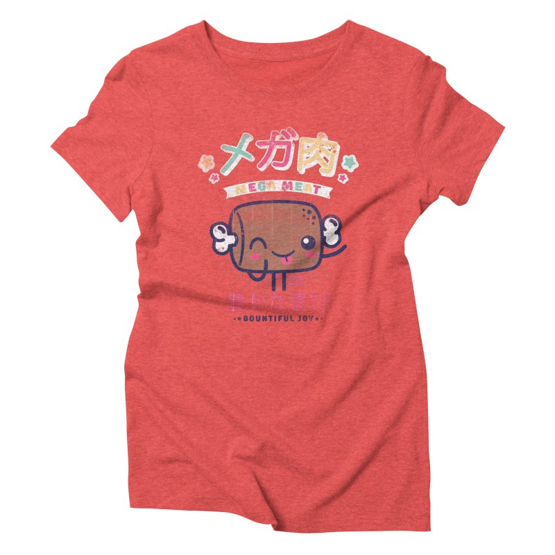 Mega Meat Women's T-Shirt by Saturday Morning Society