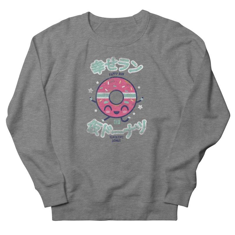 Happy Run Donut Women's Sweatshirt by Saturday Morning Society