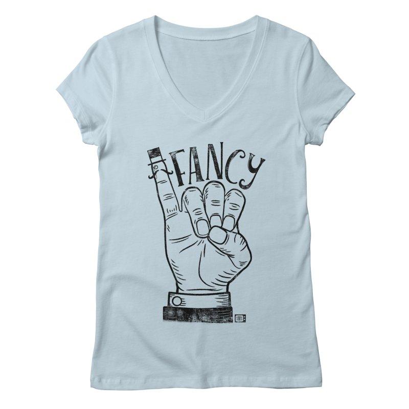 Fancy Women's V-Neck by Saturday Morning Society