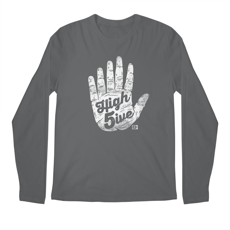 High 5ive Men's Longsleeve T-Shirt by Saturday Morning Society